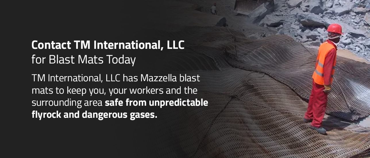 Contact TM International, LLC for Blast Mats Today
